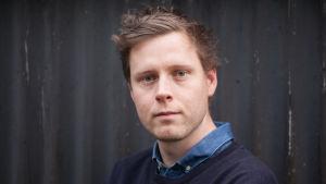 Författaren Max Porter.