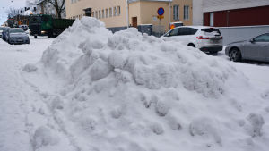 snöhög