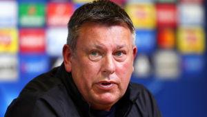 Craig Shakespeare tränar Leicester City i Premier League.