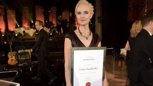 Helsingin Sanomats Washington-korrespondent vann priset Årets journalist den 14 mars 2017.