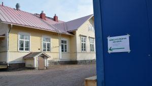Vallokal i Gammelbacka skola