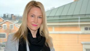 Sari Somppi, regiondirektör på Brottsofferjouren.
