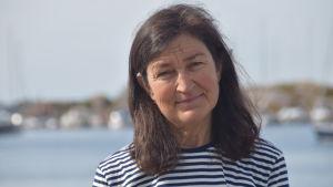 Porträttbild av Marika Lindström.