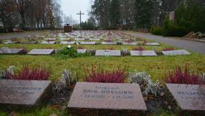 Hjältegravarna i Borgå
