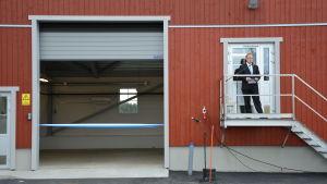 Invigning av förbättrade och förstorade avloppsreningsverket i Dalsbruk.