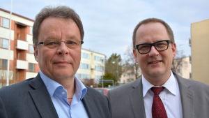 Kjell Nybacka och Tomas Häyry.