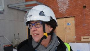 Ulla Mäki-Lohiluoma, vd på Vaasa Parks.