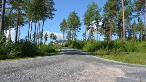 Norrbackavägen i Kimito.