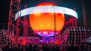 Balloon-scenen på Flow.