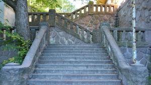 Svartmunketrappan i Åbo