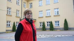 Annica Riddar, chef för mottagningscentralen i Kristinestad.