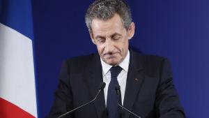 Tidigare franska presidenten Nicolas Sarkozy.