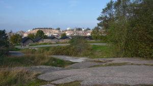 Fabriksudden och Drottningberg i Hangö