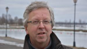 Guy Svanbäck, verksamhetsledare Österbottens fiskarförbund.