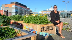 Katarina Broas är nöjd med Urbcult