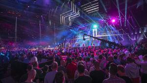 Globen under Eurovision 2016.