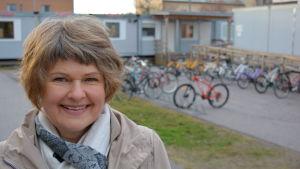 Li-Lo Söderholm, rektor på Lyceiparkens skola