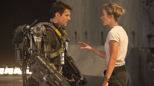 Tom Cruise krigar i Edge Of Tomorrow