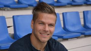 Sebastian Strandvall, spelare i VPS.