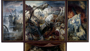 Der Krieg är Otto Dix främsta verk och baserar sig på hans upplevelser under Första världskriget