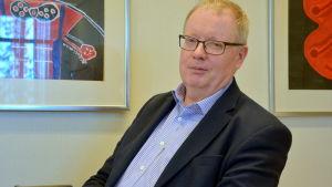 Ekonomidirektör Rabbe Eklund.
