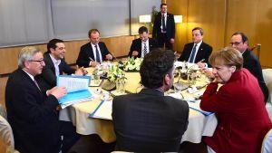 EU-toppmöte.
