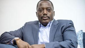 Demokratiska Republiken Kongos president Joseph Kabila 2015.