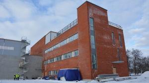 Energilaboratoriet på Brändö ska vara inflyttningsklart till sommaren.