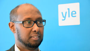 Somaliska förbundets ordförande Arshe Said.