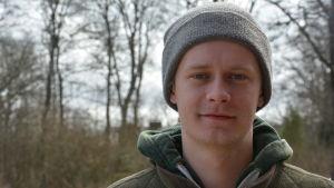 Filip Forss, fårfarmare vid Westankärr gård.