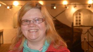 Tf museichef Laura Lotta Andersson i Hangö.