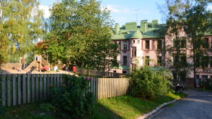 Museibackens lekpark i Åbo