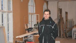 Mikael Nylund leder rehabiliterande verksamhet i Hangö