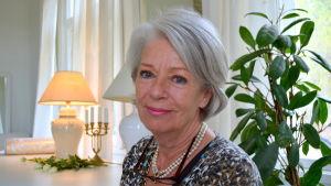 Projektchef Ann-Britt Felin-Aalto från Lovisa Historiska Hus.