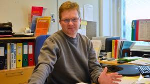 Kjell Sundsten, vägmästare i Korsholm.