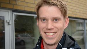 Dan Käldman är aktiv inom fotbollsföreningen PeFF från Pedersöre.