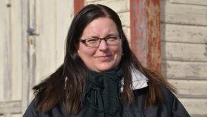 Personporträtt på en leende Linda Antman