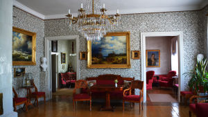 Runebergs hem inuti