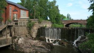 Gammelstadsforsen i Helsingfors, nära Vanda ås mynning.