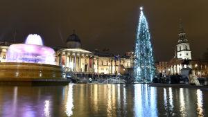 Norge har sedan 1947 årligen donerat en julgran som placeras på Trafalgar Sqare. Gåvan  är ett tack för det brittiska stödet i andra världskriget.
