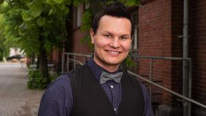 Markku Uhlbäck Tangomarkkinat 2016 -kilpailija.