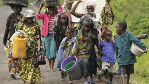 kongolesiska civilaå flykt