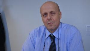 Göran Honga, direktör vid Vasa sjukvårdsdistrikt.