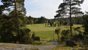 Golfbanan på Vänoxa