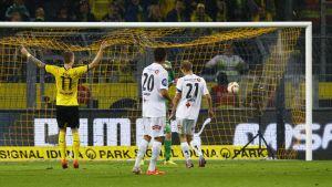 Marco Reus gjorde hattrick i Dortmund mot Odd ifjol.