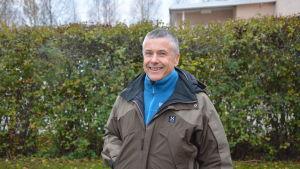 Mårten Lövdahl har koordinerat projektet kring Vörå rullskidbana.