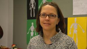 Jennie Ahtola, rektor vid Pojo kyrkoby skola.