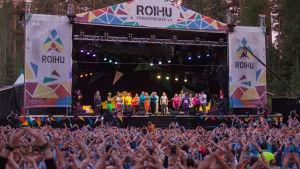Scoutlägret Roihu 2016