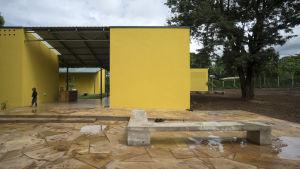Skyddshuset KWIECO i Moshi, Tanzania.