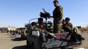 Huthirebeller i Jemen